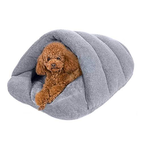 Soft Pet Sleeping Bag Bed Animal Bed Sleake House Luxury Pet Dog Cat Hole Half Covered Soft Comfort Puppy Cat Sleeping Bag Hug Cave Mat Bun Pet Dog Cat Kaninchen