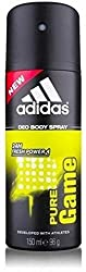 Adidas Pure Game Body Spray - For Men (150 ml)