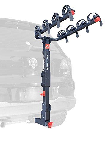 Allen Sports Premier Locking Quick Release 4Fahrräder Carrier für 2in. Anhängerkupplung