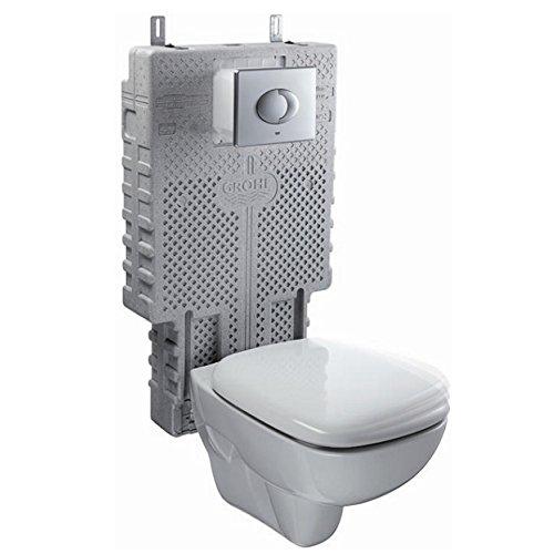 Ceravid Tiefspül-Wand-WC inkl. Unterputzspülkasten im Komplett-Set