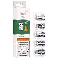 Salcar V60 & S60 replacement coils für e Zigarette/e Shisha, 0,0mg Nikotin (5er Pack)
