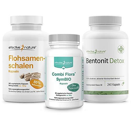 SIMPLE CLEAN | Schonende Darmreinigung und effektiver Aufbau der Darmflora | mit Bentonit Detox,...