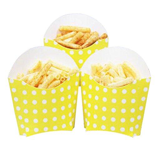 Black Temptation 12 PCS Geburtstagsfeier Supplies Popcorn Cups Food Boxes für Pommes/Zucker - A15