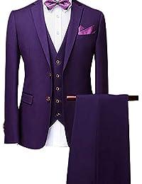 55827aa82a344 Traje Suit Hombre 2 Piezas Chaqueta pantalón Traje al Estilo Occidental  Chaqueta