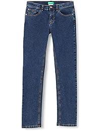 United Colors of Benetton (Z6ERJ) Pantalone Jeans para Niños