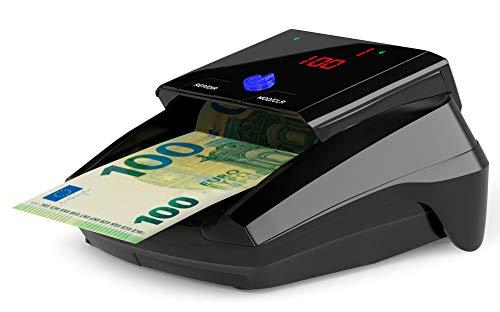 Detectalia D7 - Detector de billetes falsos listo para nuevos billetes de 100 y 200 euros