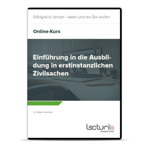 Preisvergleich Produktbild Online-Videokurs Einführung in die Ausbildung in erstinstanzlichen Zivilsachen fürs Staatsexamen - Jura Repetitorium