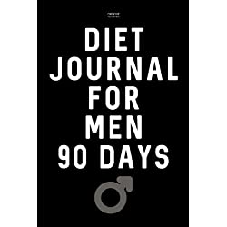 DIET JOURNAL for MEN 90 Days: Weight Loss and Exercise Diary
