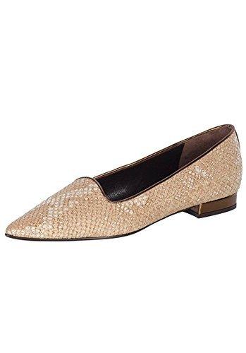 Pantofola Donna in pelle di Patrizia Dini Naturale