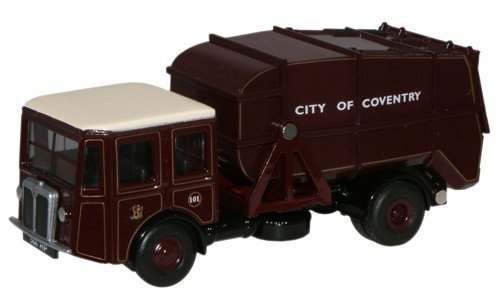 shelvoke-drewry-garbage-truck-dustcart-coventry-1-76th-scale-oxford-diecast-by-oxford-commercials