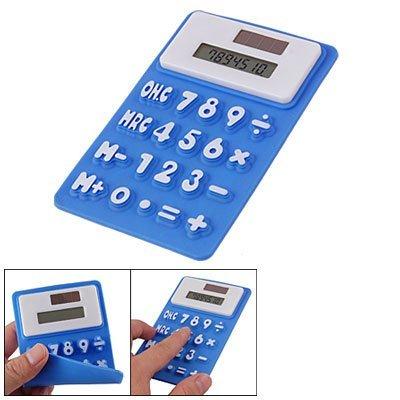 Silicona Azul Nevera Etiqueta Magnética 8 Calculadora Dígitos