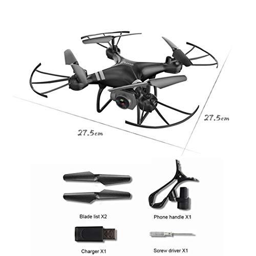 Porrity Auto Return Quadcopter Remote Control Helicopter WiFi Drone a 4 Assi in Tempo Reale Droni