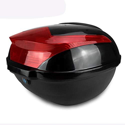 Preisvergleich Produktbild Mouchao Stoßfeste Motorrad-Fahrradbox mit großer Kapazität und sicherer Verschlussschnalle schwarz