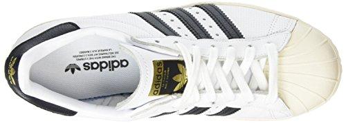 adidas Superstar 80s, Scarpe Sportive Uomo Running White / Black / Black