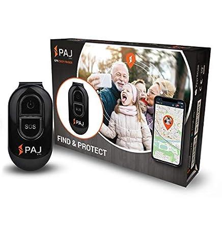 PAJ GPS Easy Finder GPS Tracker 3-5 Tage Akku, Mini Peilsender für Personen, Kids oder als Senioren-Notruf, Ortung per App