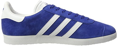 adidas Gazelle, Scarpe Running Uomo Blu (Collegiate Royal/white/gold Metallic)