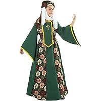 Disfraz de princesa medieval para niña - Único, 11 a 13 años