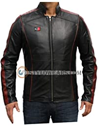 Stylowears Mass Effect 3 Game Replica N7 Real Cow Hide Leather Jacket