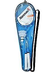Amazon Lot de 2 raquette de Badminton + Lot de 2 volant + Sous Housse complète
