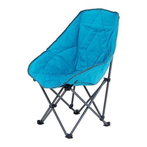 Y HWZDY Camping klappstuhl Klappstuhl im Freien, Fischen-Freizeit-Stuhl, Breathable Fester beweglicher Strand-Stuhl, (Farbe : Blau)