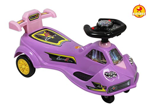 Baybee MileStone Swing Car (Violet)