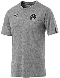 Puma Olympique de Marseille Fan Slogan tee Camiseta 33941aa37e504