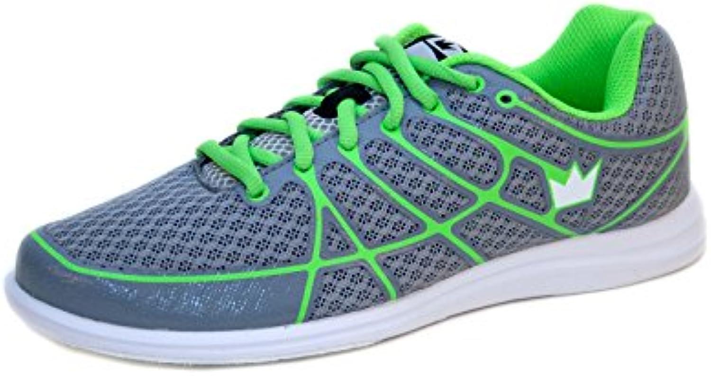 , Tamaño de la zapata:37.5, Farbe (Schuhe):Grau/Limette  -