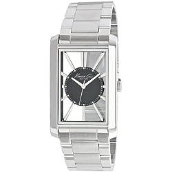 Kenneth Cole Men's Silver Stainless Steel Bracelet Watch Kc3995
