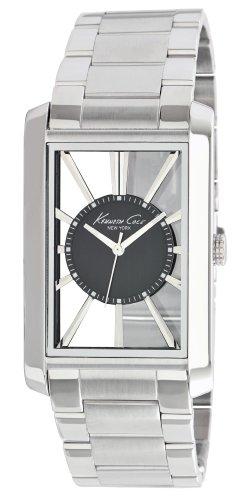kenneth-cole-transparency-reloj-analogico-de-caballero-de-cuarzo-con-correa-de-acero-inoxidable-plat