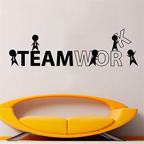 wandaufkleber 3d Wandtattoo Kinderzimmer Büro Zitat Vinyl Wandtattoos Idee Teamarbeit Business Worker inspirieren Dekoration für Büro