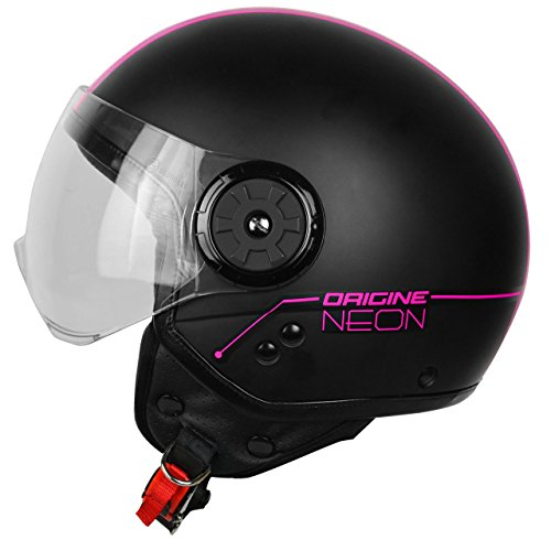 Origine Helmets 201585026400106 Neon Street Casco Demi Jet, Fucsia, XL