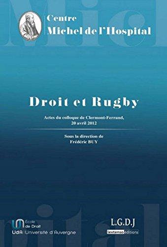Droit et Rugby