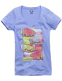 T-Shirt Damen OAKLEY Snow Googles