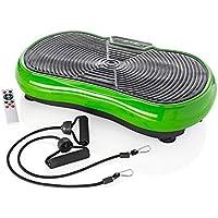 Shape Vibrationsplatte Testsieger 2020 - (Note 1,5 'Sehr gut' - DtGV) bis 150kg belastbar inkl. Expanderbänder, DVD mit…