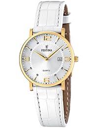 FESTINA F16479/3 - Reloj de mujer - correa de piel - color blanco