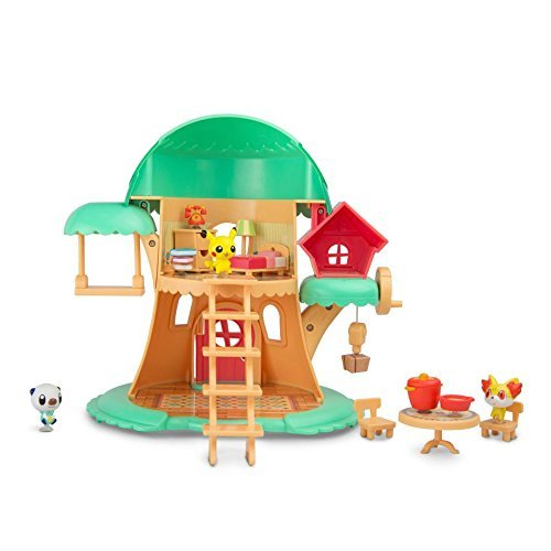Tomy Pokemon Sun & Moon Petite Pals Escape in The Forest Playset (Petit Pokemon)