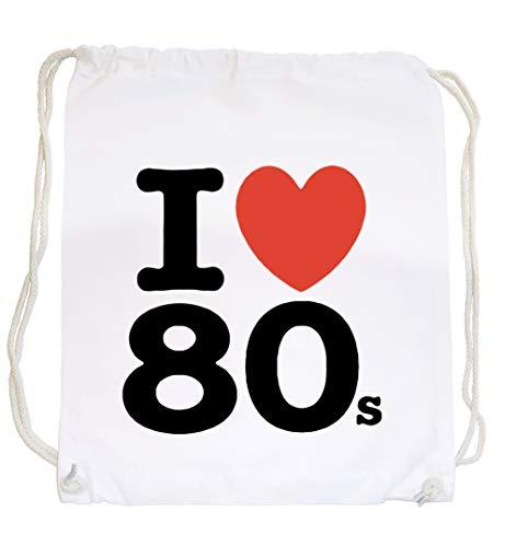 Certified Freak Love 80s Gymsack White