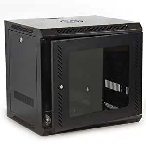 Best Choice Products SKY1614 Wall Mount Network Server Cabinet (Black)