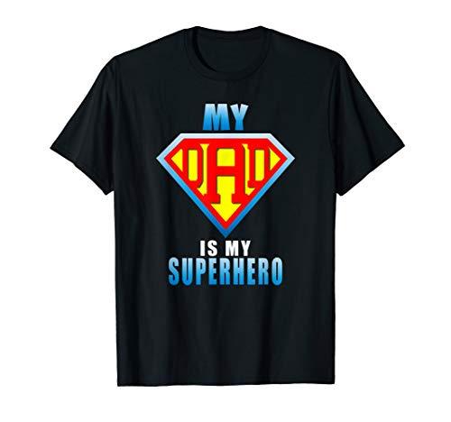 Mein Vater Ist Mein Superhelden-Geschenk T-Shirt