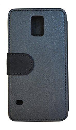 FioMi Flip Cover Schutz Hülle Handy Tasche Etui Case für (Apple iPhone 5 / 5s, 749 Fußball in Flammen Feuer Rot Schwarz) 118 Katze Braun Weiß