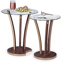 Mesas auxiliares de cristal - Amazon mesa auxiliar cocina ...