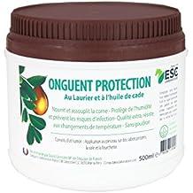 """ESC - Onguent """"PROTECTION"""" - pour Sabot de Cheval. 500 ml - Prairies humides. à l'Huile de Cade."""