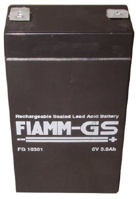 FIAMM - Batterie Plomb Fiamm 6V 3.8Ah FG10381 - FG10381
