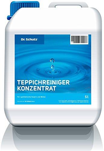 Dr.Schutz Teppichbodenreiniger Konzentrat 5ltr.(D/F) sofort lieferbar