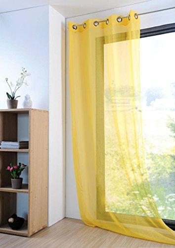 Lovely casa monna tenda 140x 280cm poliestere giallo 280x 140x cm