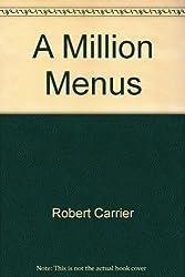 A Million Menus