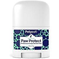 Petpost | Protección para Patas de Perro - Bálsamo de Aeite de Girasol Orgánico y Cera de Abejas para el Pavimento Caliente - La Cera Recubre las Patas del Perro para Evitar Quemaduras de Frío o Calor