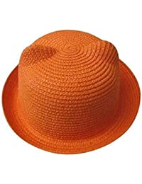 5Five Carino 13 colori estate bambino cappello unisex cappello bambini  protezione solare traspirante cappello di paglia 495aeae48a9c