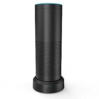 Smatree AE9000 Intelligent Battery Base9000mAh für das Amazon Echo (Nicht für Echo Dot)-Schwarz