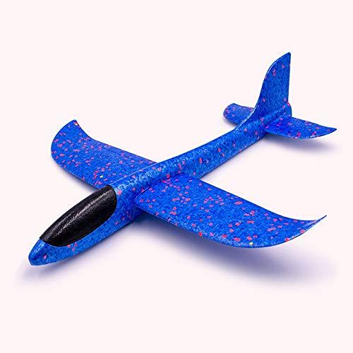 Tagke Flugzeuge Toy Foam Hand werfen Kinder Spielzeug Junge Mädchen Größe Slewing Aircraft Modell Plastic Glider Manuelles Werfen Foam Aircraft Toy Fliegende Segelflugzeuge Trägheit Flugzeuge Manuelle (Toy Glider Flugzeuge)